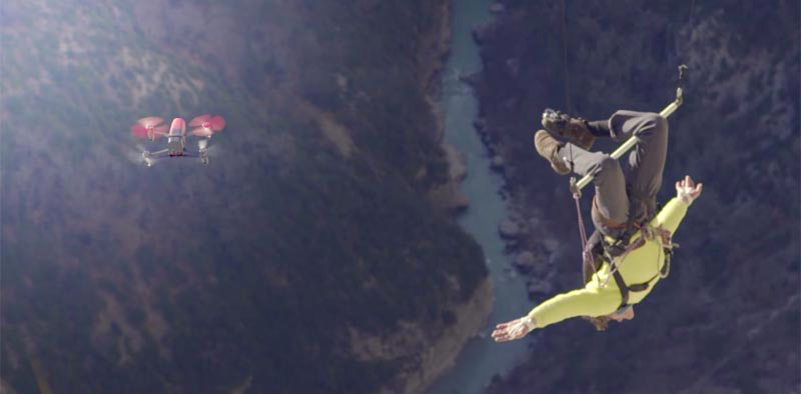 Catching Bebop Drones