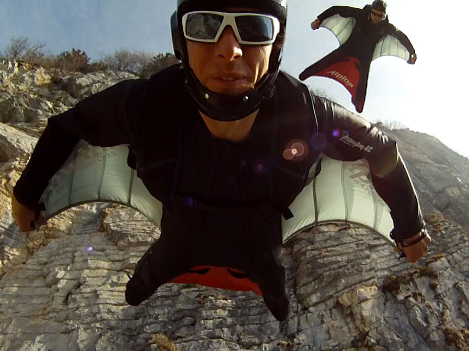 2 way en wingsuit pour ESPN