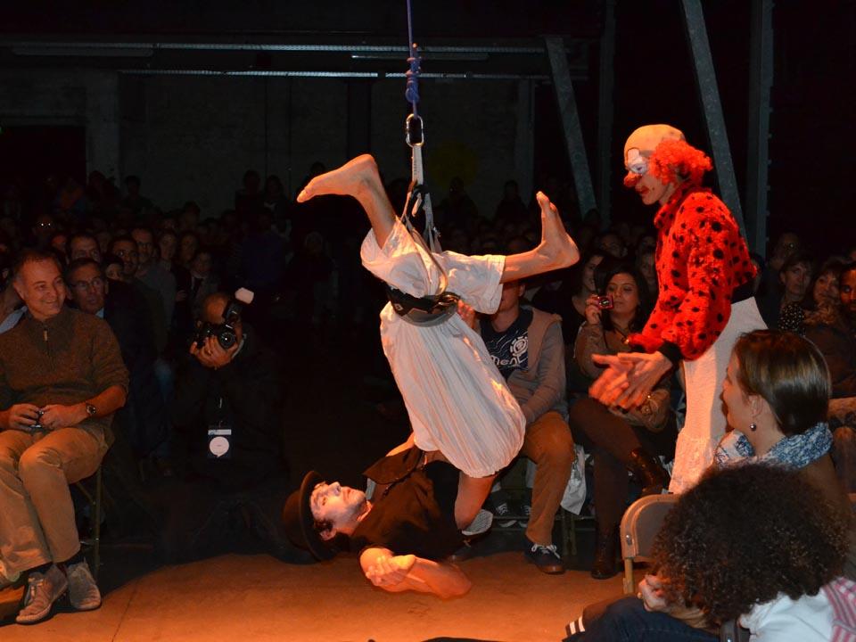 Improvisation des Flying Frenchies