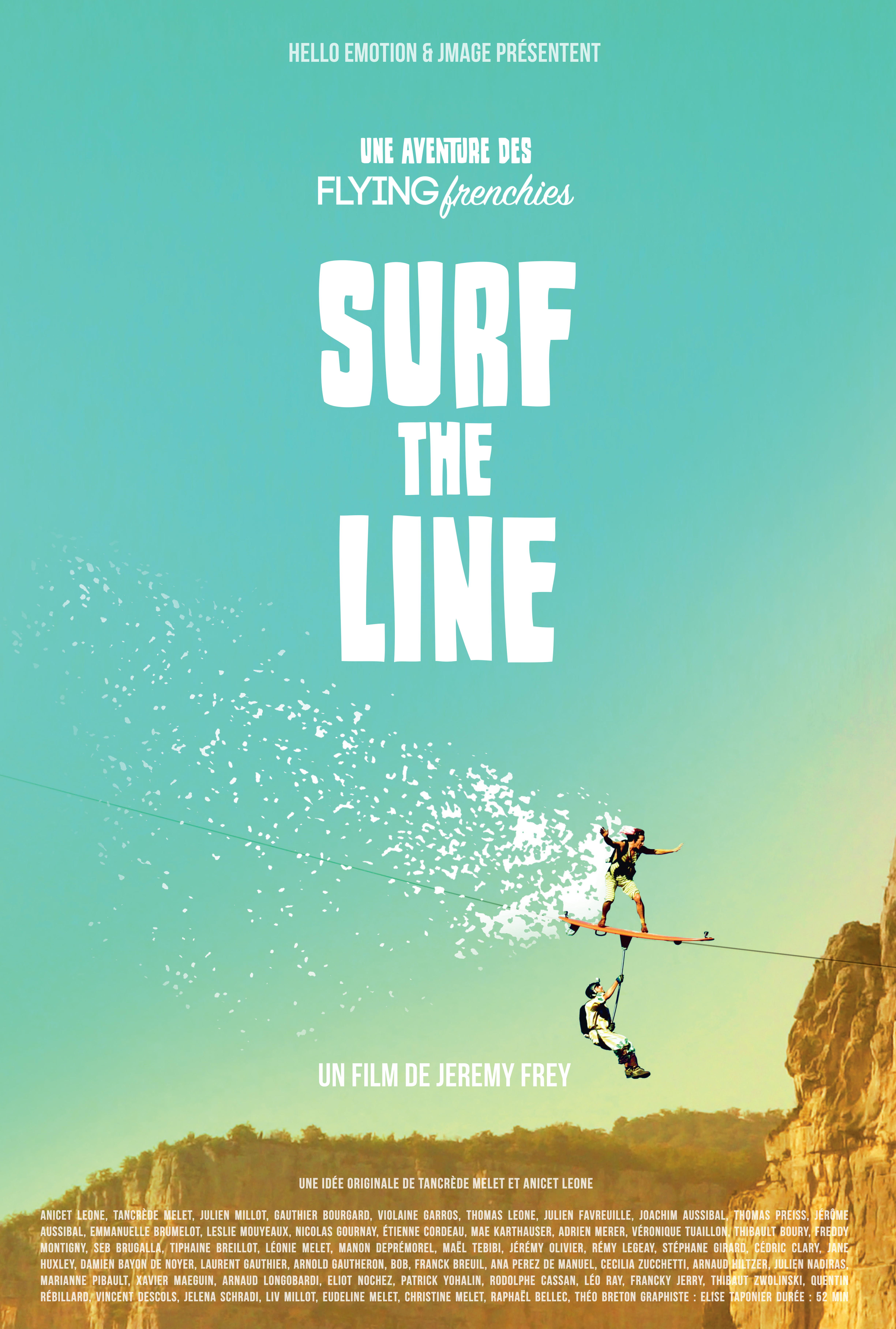 Surf The Line Flying Frenchies